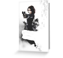 Marvel's Black Widow Greeting Card