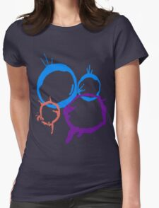 Bubble Shirt Womens Fitted T-Shirt