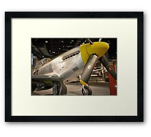 Yellow Nosed Mustang Framed Print