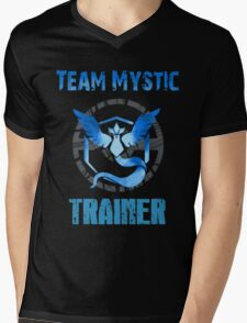 TEAM MYSTIC, POKÉMON GO Mens V-Neck T-Shirt