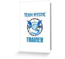 TEAM MYSTIC, POKÉMON GO Greeting Card