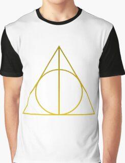 Minimalist Harry : Deathly Hallows Graphic T-Shirt