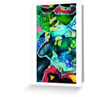 Abstractsia Greeting Card