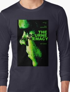 THE BOURNE SUPREMACY Long Sleeve T-Shirt