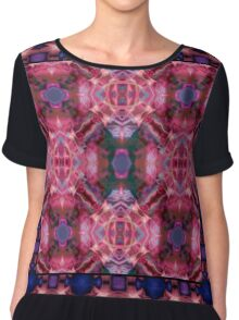 Abstract colorful background . Chiffon Top