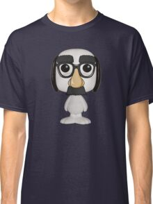 snoopy funny mask Classic T-Shirt