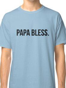 Papa Bless - version 1 - black Classic T-Shirt