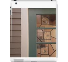 wall portrait, concord retreat iPad Case/Skin