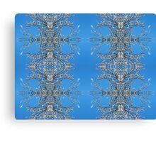 White Blossom Blue Skies Canvas Print