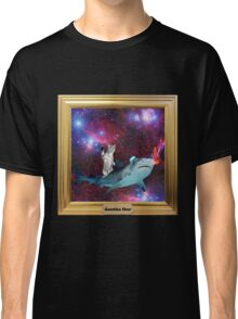 Hipster Kitty IN SPACE Classic T-Shirt