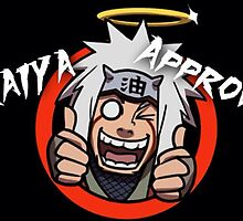 Jiraiya Approves by Colin Donegan