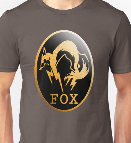 Foxhound Metal Gear Logo Unisex T-Shirt