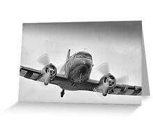 DC3 Fast And Low - Farnborough 2014 Greeting Card