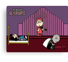Abominable Dr. Peanuts Canvas Print