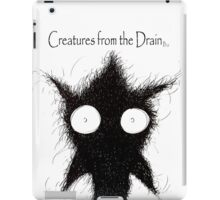 big creatures from the drain 8 iPad Case/Skin