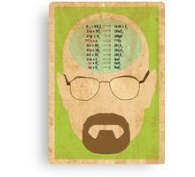 Breaking Bad poster Canvas Print