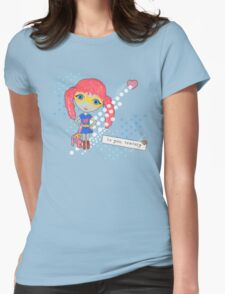 Bravely, She Took On The World Womens Fitted T-Shirt