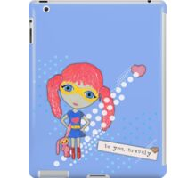 Bravely, She Took On The World iPad Case/Skin