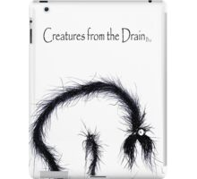 the creatures from the drain 23 iPad Case/Skin
