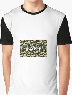 BAPE x Supreme: Camo Box Logo Graphic T-Shirt