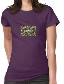 BAPE x Supreme: Camo Box Logo Womens Fitted T-Shirt