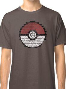 Pokeball Song typography Classic T-Shirt