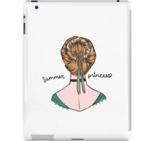 Summer Princess iPad Case/Skin