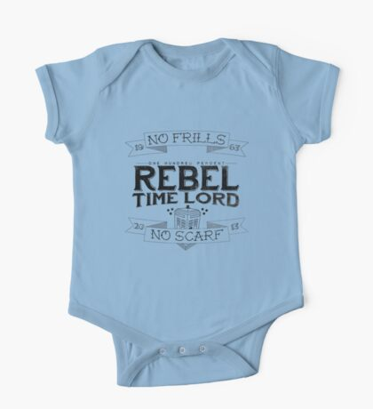 Rebel Time Lord One Piece - Short Sleeve
