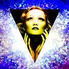 Marlene Dietrich golden  sunrise by sebmcnulty