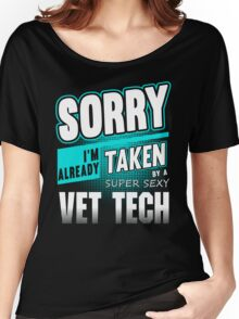 Vet tech shirt, vet tech mug, veterinarian, vet technician, veterinary medicine, vet assistant Women's Relaxed Fit T-Shirt