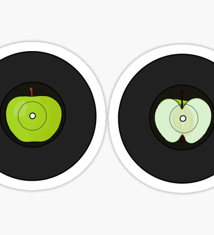 The Beatles: Apple Record Sticker