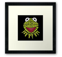 Muppetational Framed Print