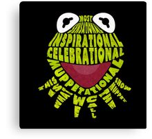 Muppetational Canvas Print