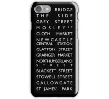 Newcastle Streets iPhone Case/Skin