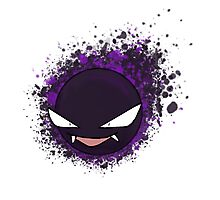 Gastly Photographic Print