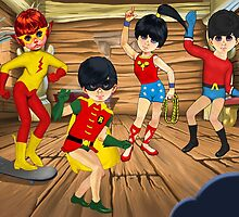 Preteen Titans by TheWrightMan