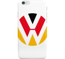 VW Deutsch at heart iPhone Case/Skin