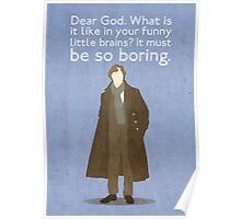 Sherlock Poster Poster