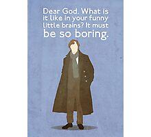 Sherlock Poster Photographic Print
