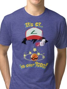 Its CP is over 9000! Tri-blend T-Shirt