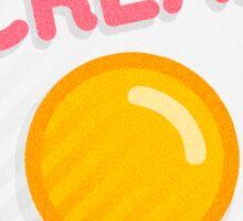 Egg Sticker #3 - *Screams* Sticker