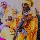 Musician, Rishikish, India by indiafrank