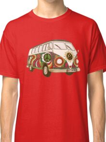 Vintage Psychedelic Kombi Classic T-Shirt