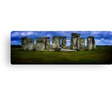 Stonehenge a prehistoric monument in Wiltshire, England, Canvas Print