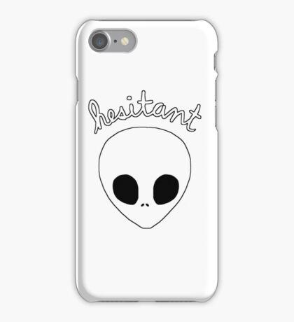 Gerard Way Hesitant Alien iPhone Case/Skin