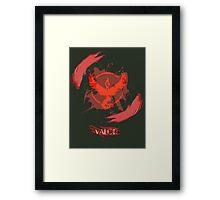 Valor Framed Print