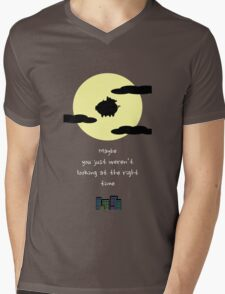 It's all about timing Mens V-Neck T-Shirt