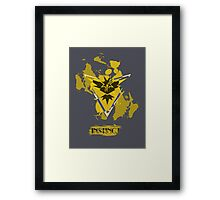 Pokemon Instinct Framed Print