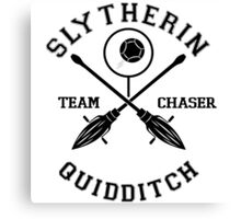Slytherin Quidditch Team Chaser Canvas Print