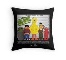 The Usual Muppets Throw Pillow